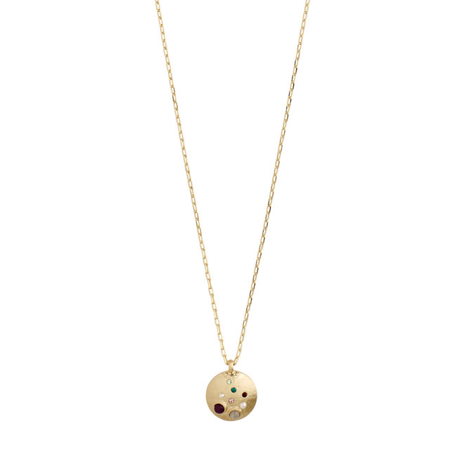 Pilgrim Empathy Coin Necklace