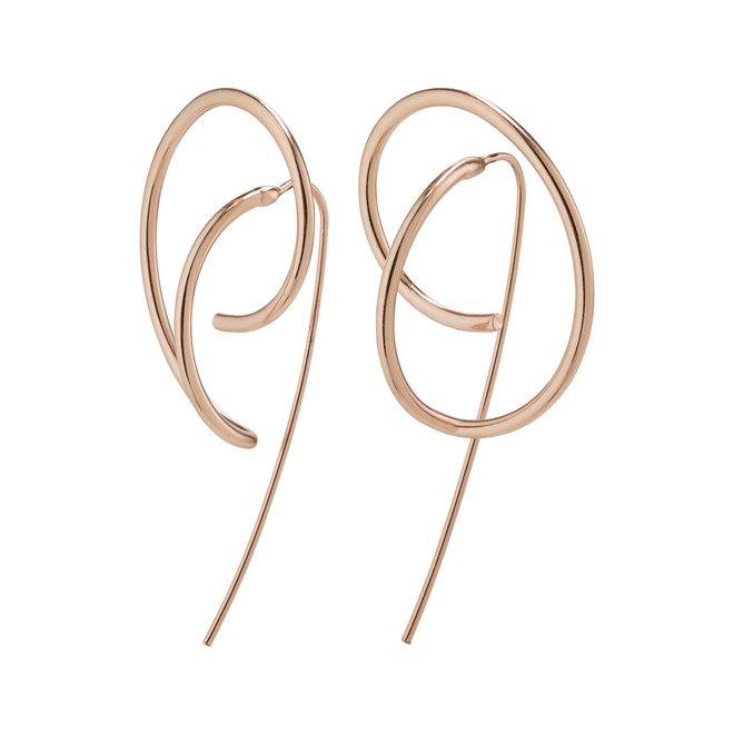 Boucles d'oreilles audacieuses Pilgrim Empathie