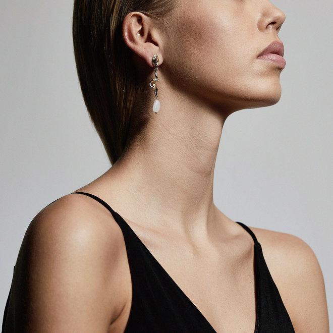 Pilgrim Intuition Statement Earrings