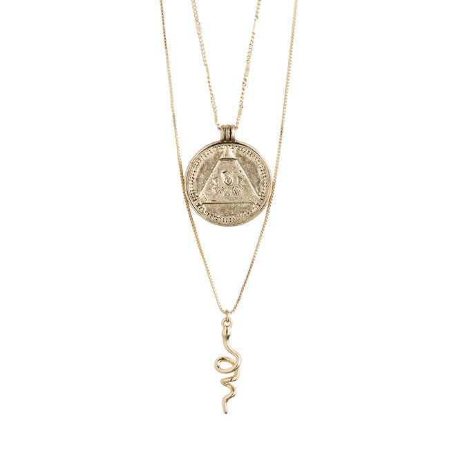 Pilgrim Sensitivity 2-in-1 Necklace