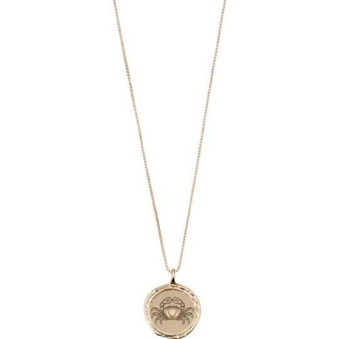 Pilgrim Horoscope Necklace Cancer