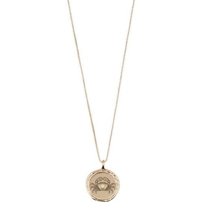 Pilgrim Horoscope Necklace Cancer