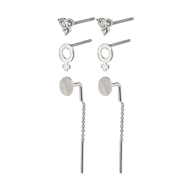 Pilgrim Malak Earring Set