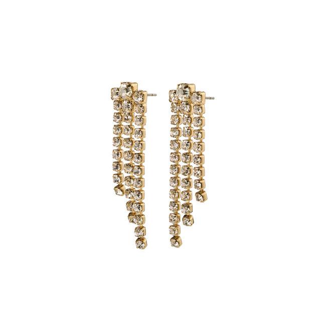 Pilgrim Petra Crystal Earrings