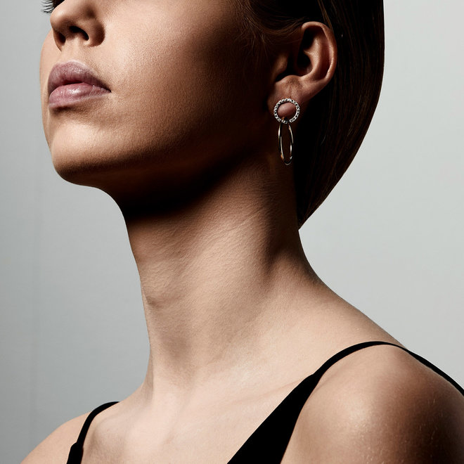 Boucles d'oreilles cristal Pilgrim Garcelle