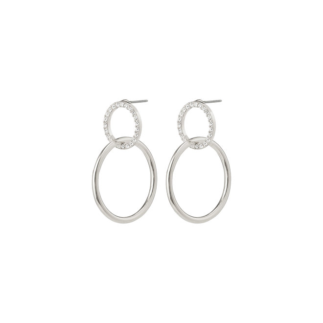 Pilgrim Garcelle Crystal Earrings