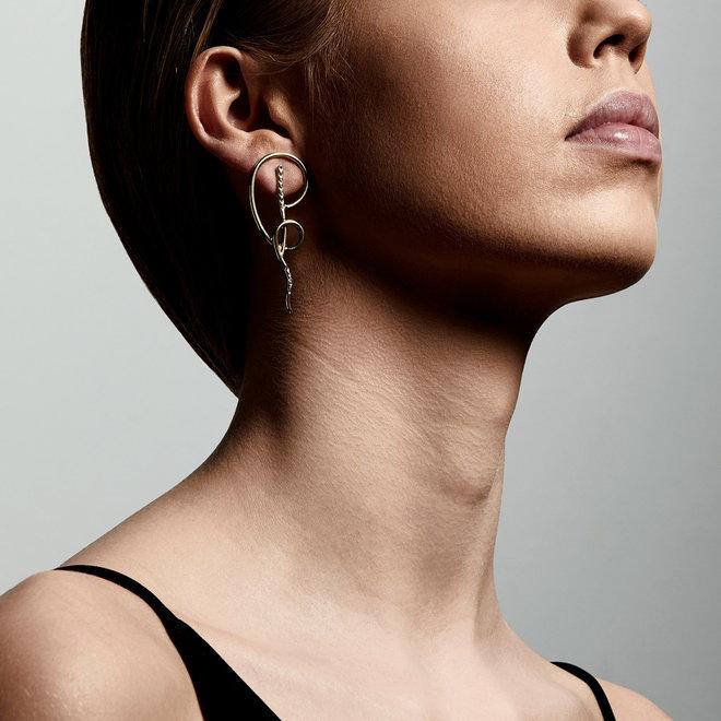Pilgrim Cliona Crystal Earrings