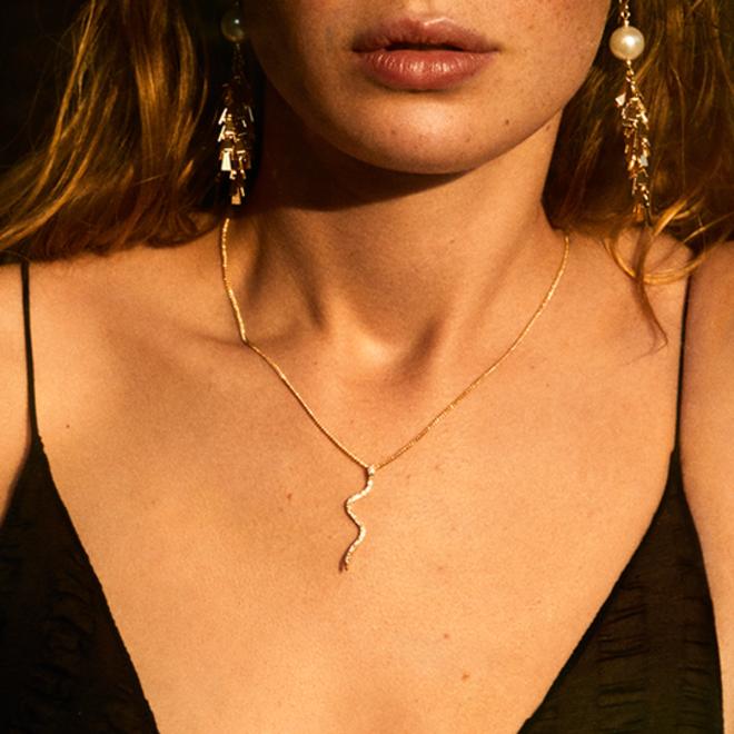 Pilgrim Beauty Crystal Necklace