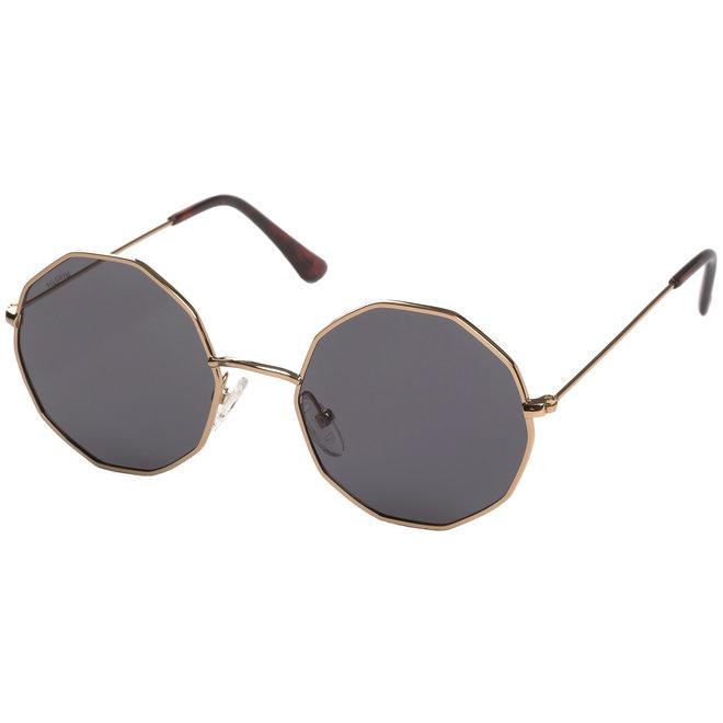 Pilgrim Annora Sunglasses Gold plated, Grey