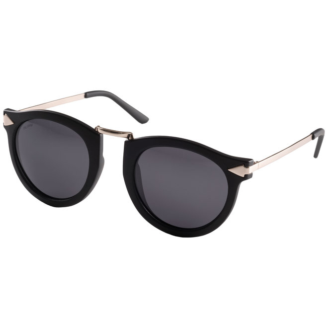 Pilgrim Meal Sunglasses Gold plated, Black