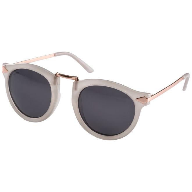 Pilgrim Mael Sunglasses Rose Gold plated, Grey