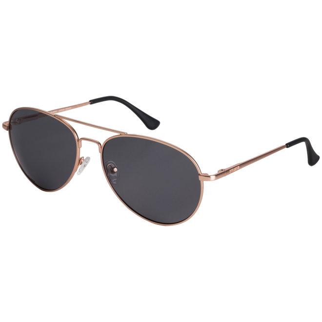 Pilgrim Nani Sunglasses Rose Gold plated, Black