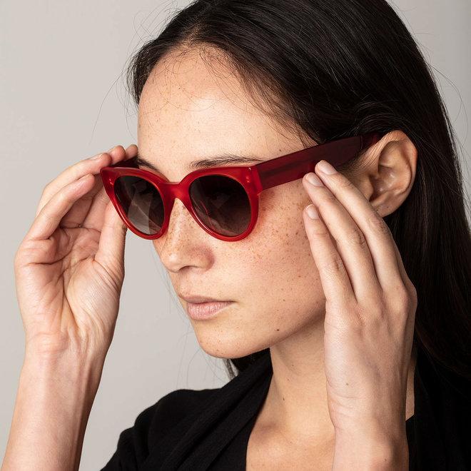 Pilgrim Premium Mali Sunglasses Red