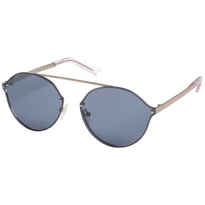 Pilgrim Zadie Sunglasses Silver plated, Blue