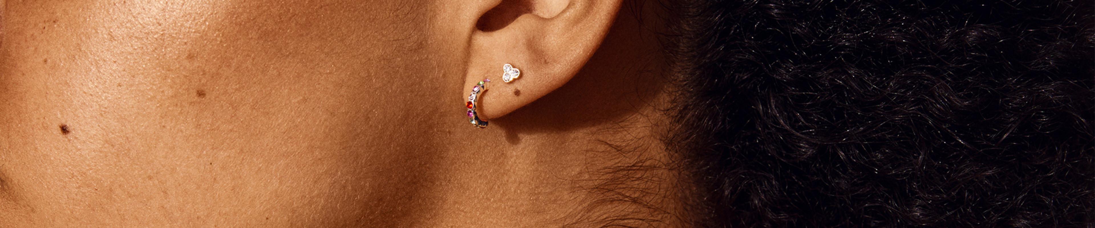 Boucles d'oreilles en cristal