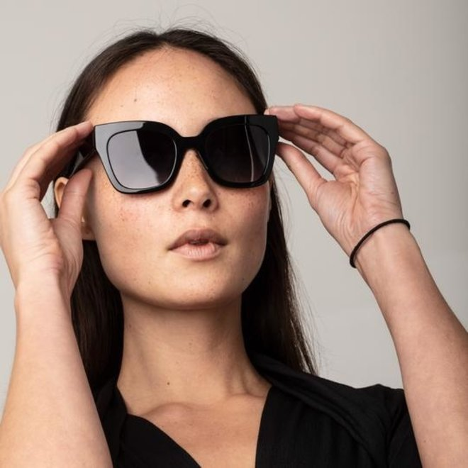 Pilgrim Premium Gemma Sunglasses Black