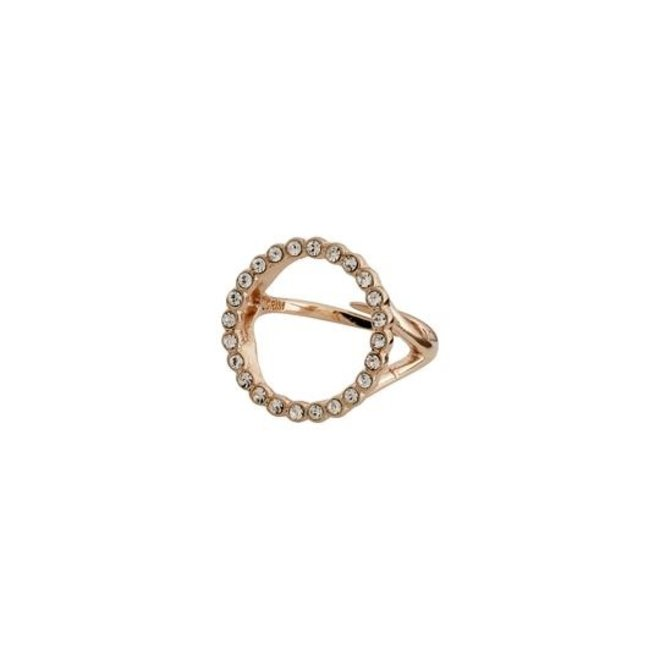 Pilgrim Daisy Crystal Ring