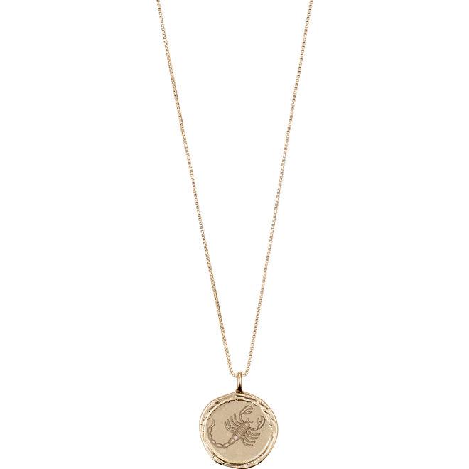 Pilgrim Horoscope Necklace Scorpio