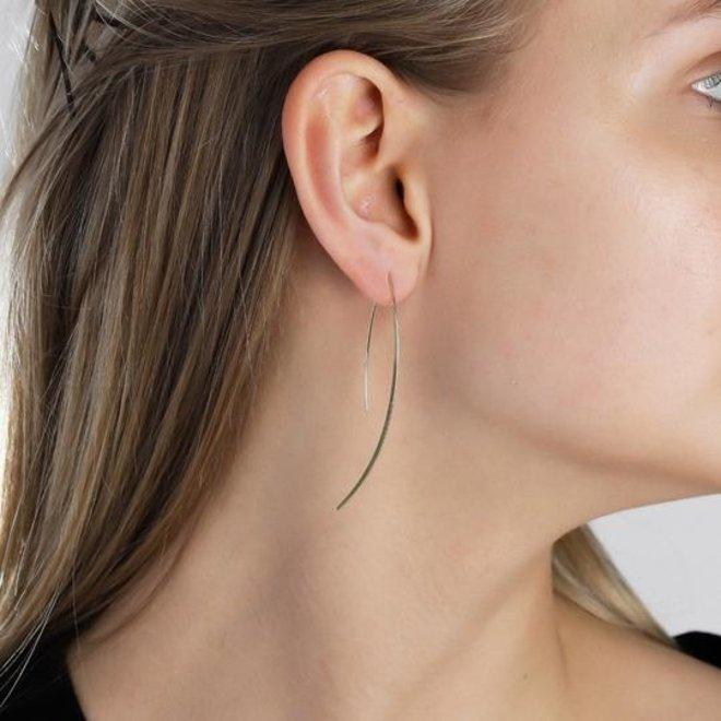 Pilgrim Long Minimalist Earrings