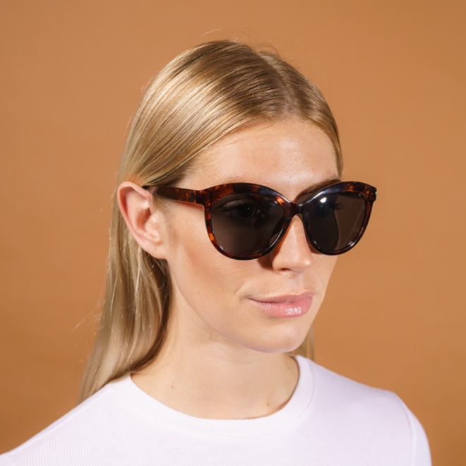 Pilgrim Tulia Sunglasses Brown