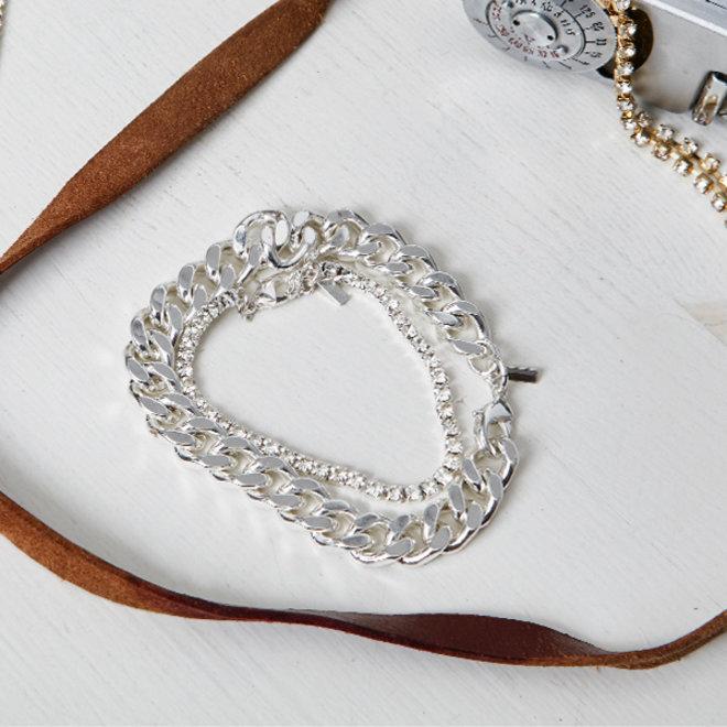 Pilgrim Radiance 2-in-1 Bracelet