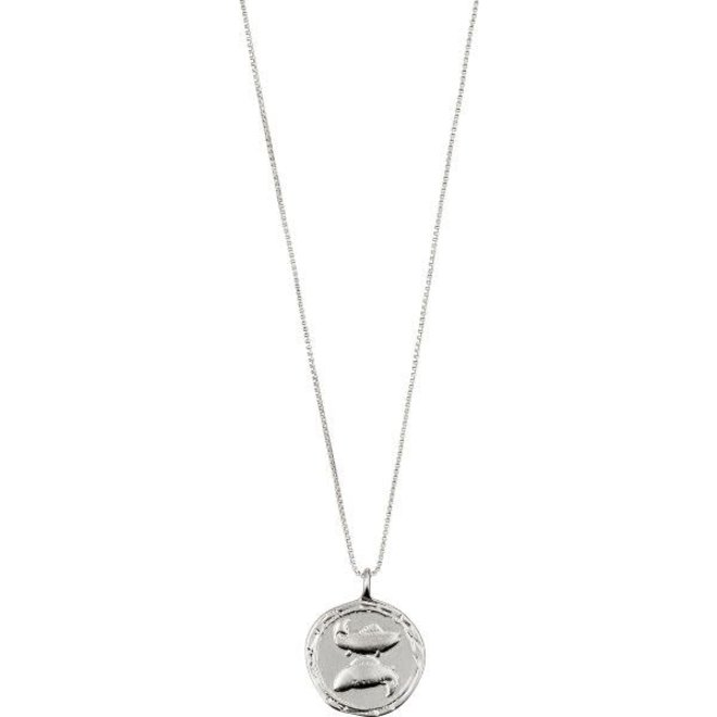 Pilgrim Horoscope Necklace Pisces
