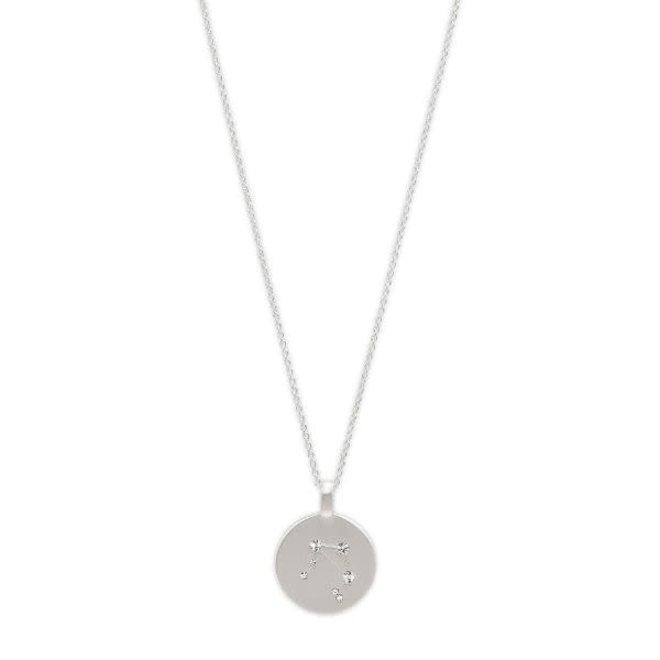 Pilgrim Star Sign Necklace Libra