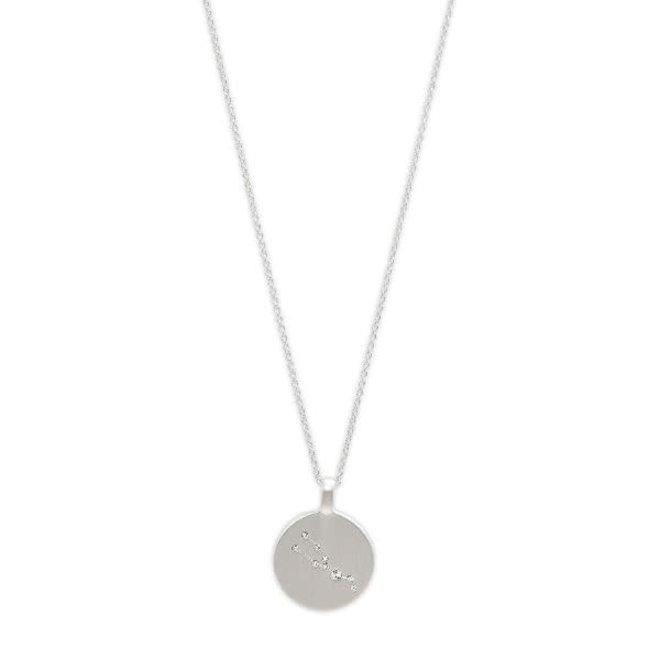 Pilgrim Star Sign Necklace Taurus