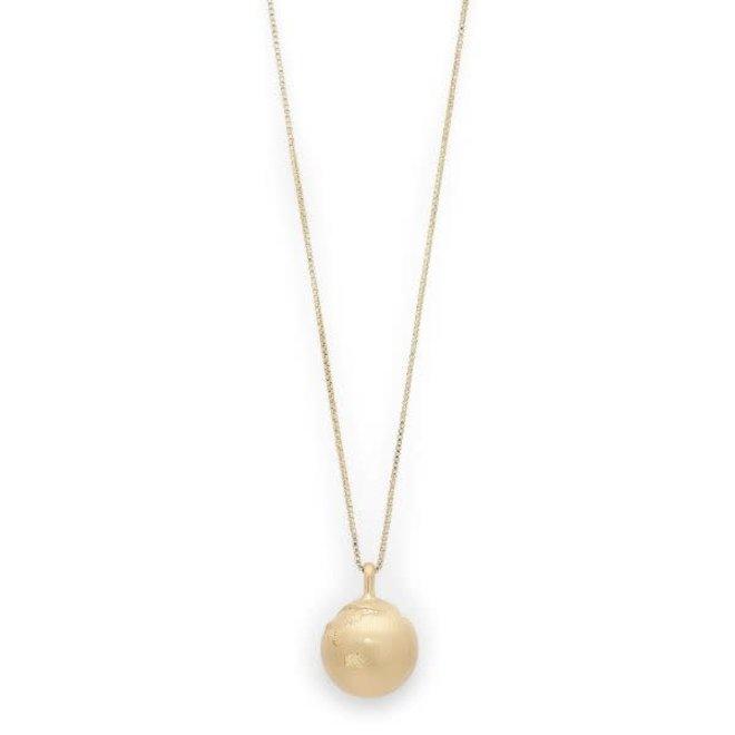 Pilgrim Berta Globe Necklace