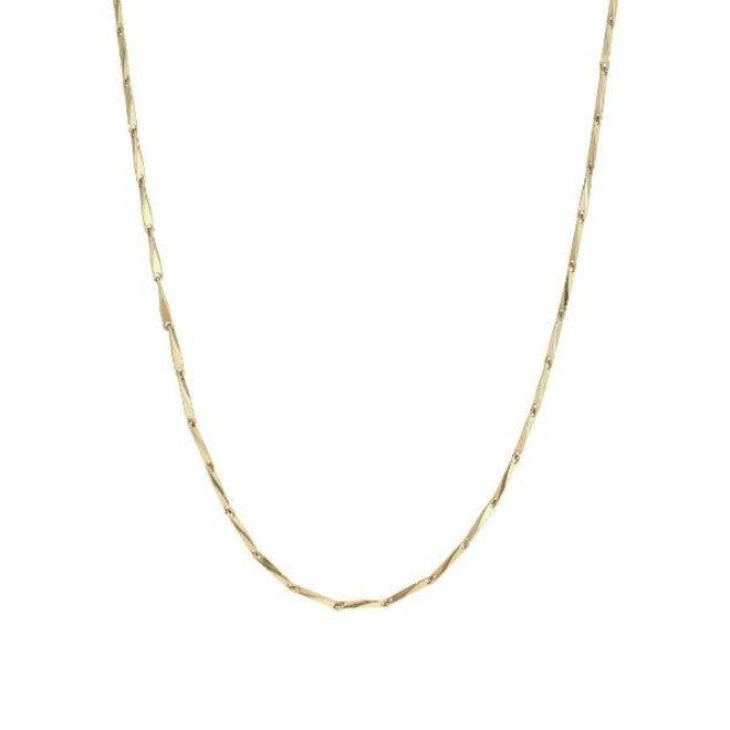 Pilgrim Ingot Classic Chain Necklace