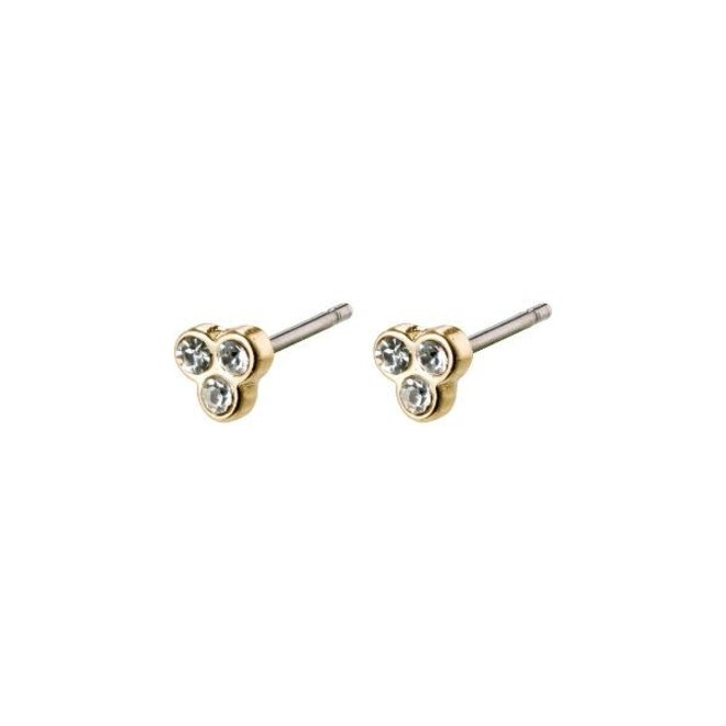 Pilgrim Caily Crystal Stud Earrings