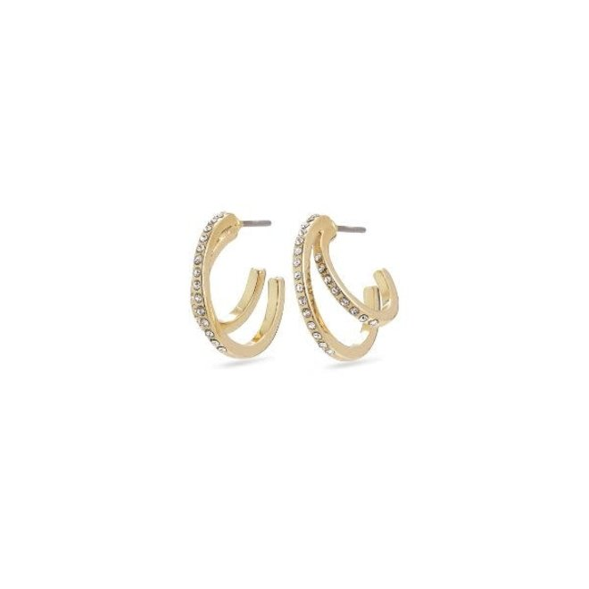 Pilgrim Cloud Crystal Earrings