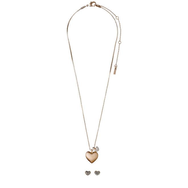 Pilgrim Crystal Heart Gift Set