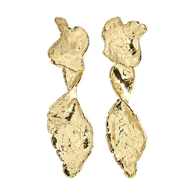Pilgrim Compass Statement Earrings