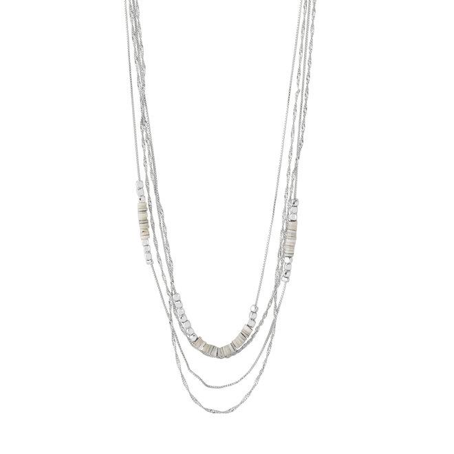 Pilgrim Sincerity Layered Necklace