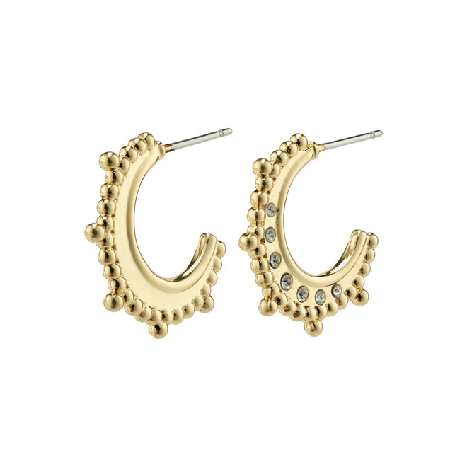 Pilgrim Sincerity Small Crystal Hoops