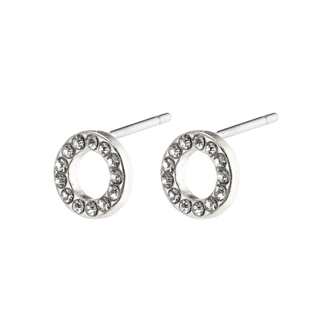 Pilgrim Tessa Crystal Stud Earrings