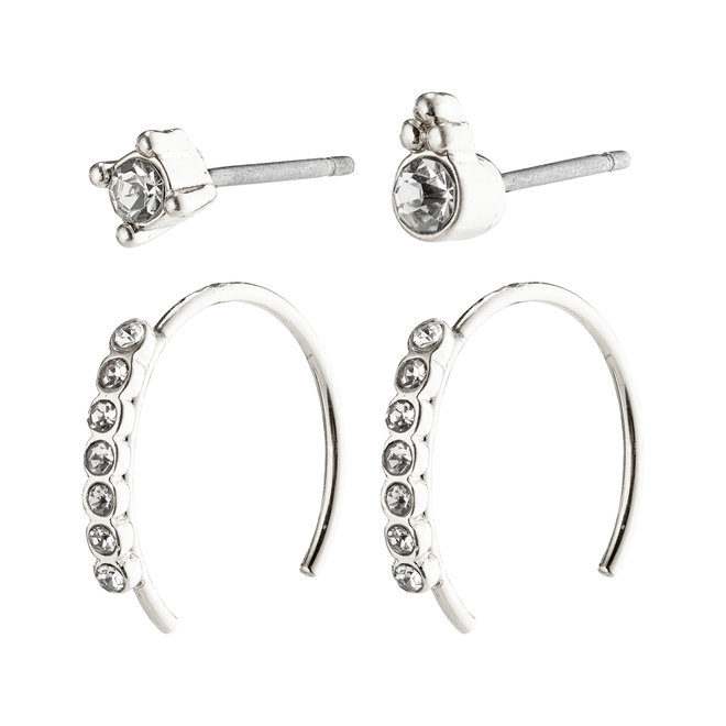 Pilgrim Kali Earrings Set