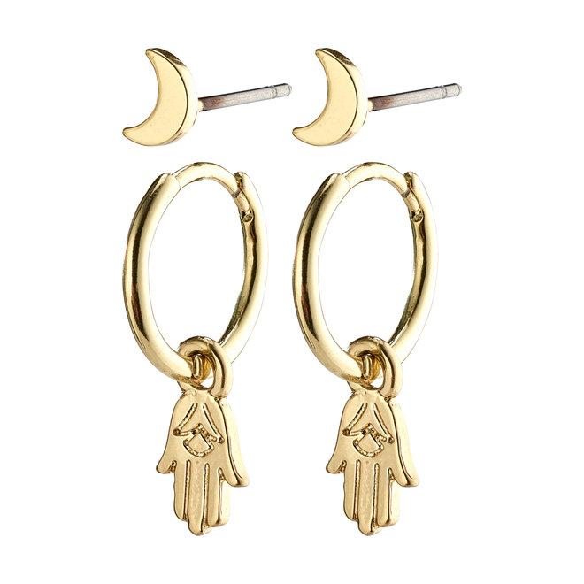 Pilgrim Nyla Earrings Set