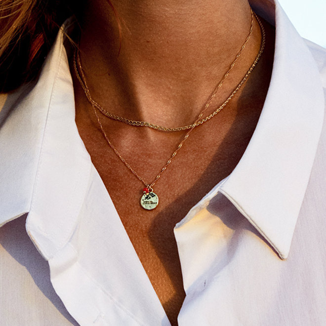 Pilgrim MSF 2-in-1 Glass Bead Necklace