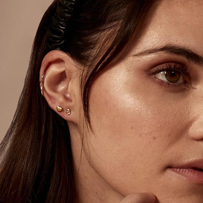 Petites boucles d'oreilles Pilgrim Sophia