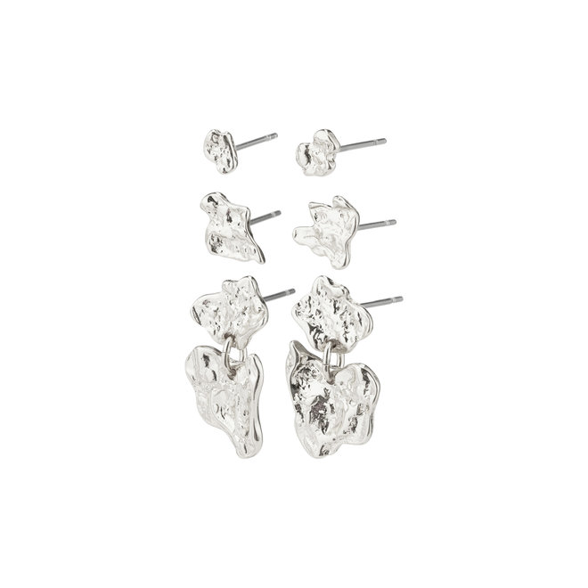 Pilgrim Horizon 3-in-1 Earring Set