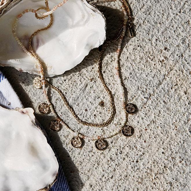 Collier de perles Pilgrim Nomade