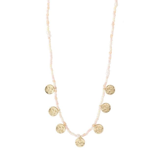Pilgrim Nomad Beaded Necklace
