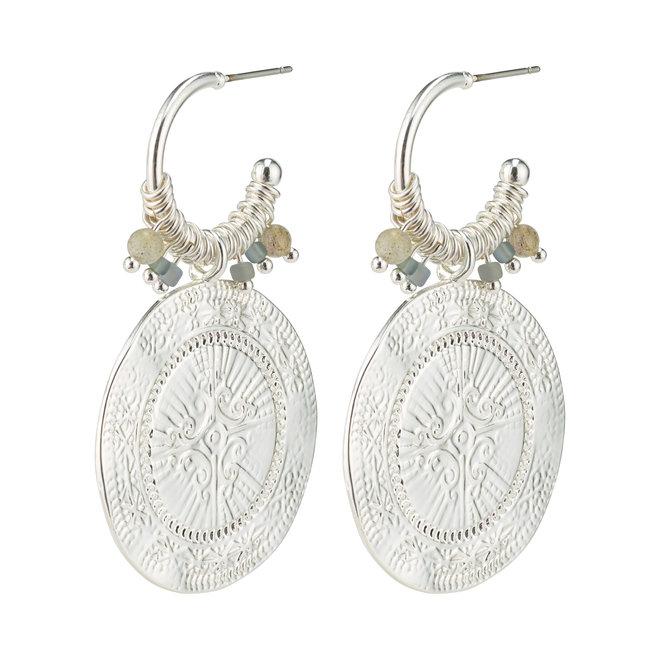 Boucles d'oreilles audacieuses Pilgrim Nomade