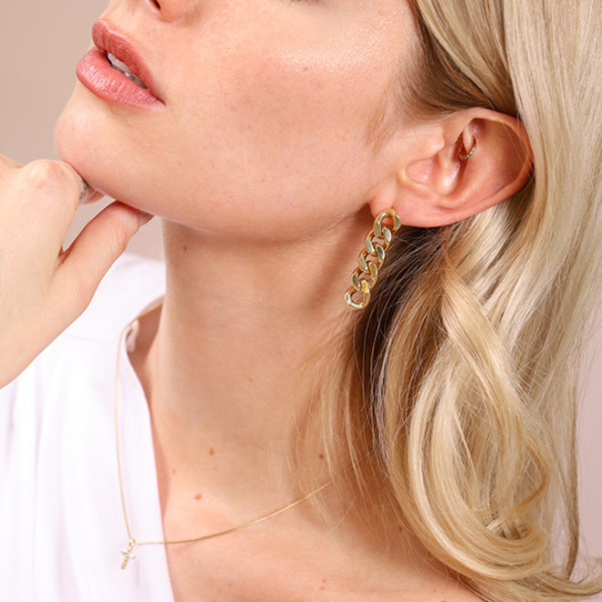Boucles d'oreilles Pilgrim Éclatante