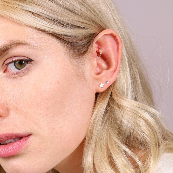 Pilgrim Ava Stud Earrings