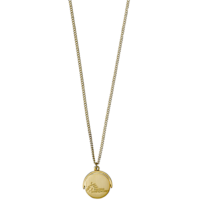Pilgrim Doctors Without Borders Coin Necklace