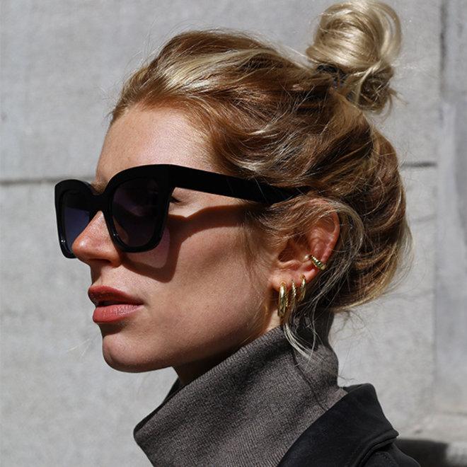 Lunettes de soleil Pilgrim Dael Premium Noir