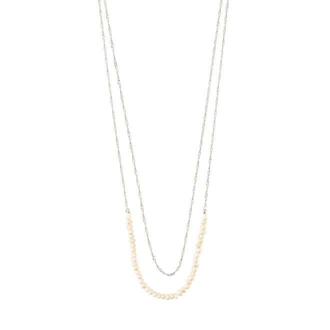Pilgrim Native Beauty Layered Pearl Necklace